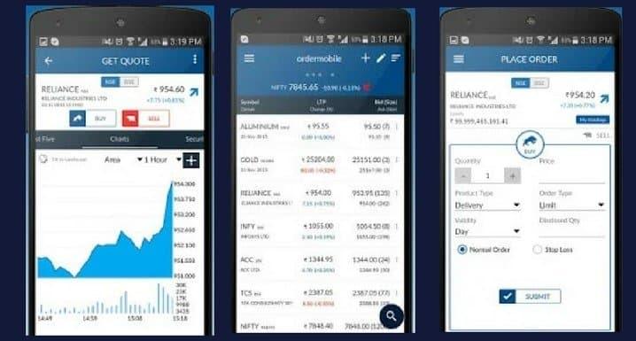 Angel Broking Mobile Trading App