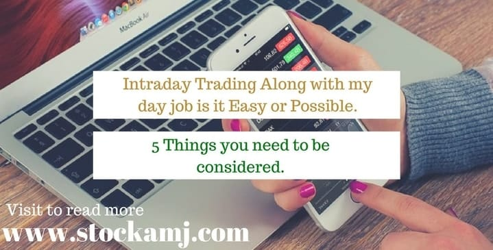 Intraday Trading Day Job