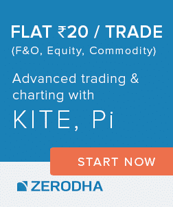 Open an Account with Zerodha —  Stock investments are now FREE at Zerodha