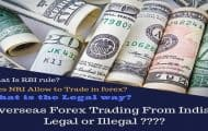 Overseas forex trading
