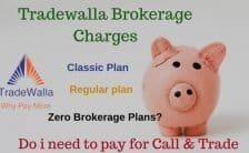 What is tradewalla brokerage charges