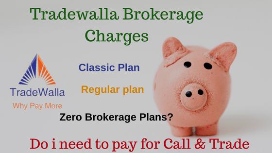 Tradewalla Brokerage Charges