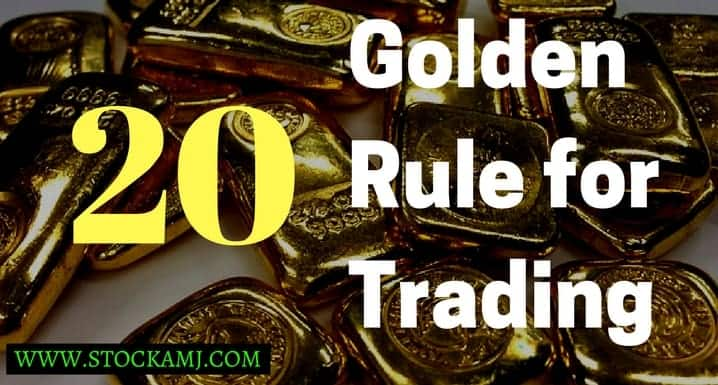 20 Golden Rules for Online Trading Which can be Useful for You to Make a Profit.