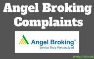 Complaints Against Angel Broking
