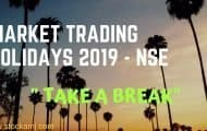 Market Trading Holidays 2019 - NSE, BSE, Commodity & Currency