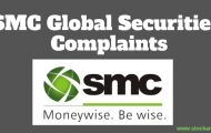 Complaints Against SMC Global Securities