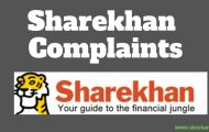 Complaints Against Sharekhan