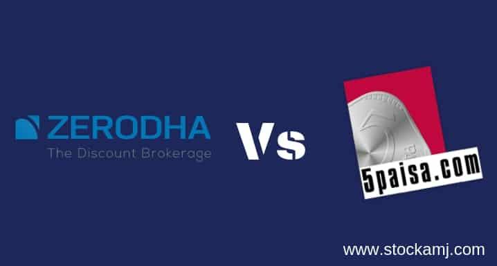 Zerodha Vs 5paisa Discount Share Broker Comparison