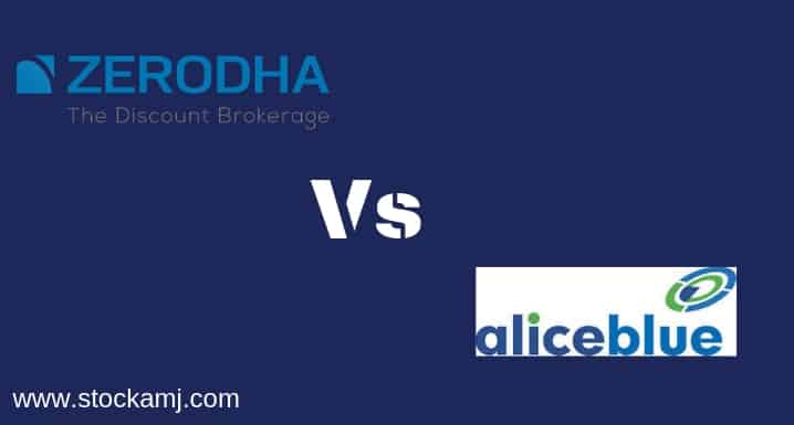 Zerodha Vs Alice Blue Online Discount Share Broker Comparison